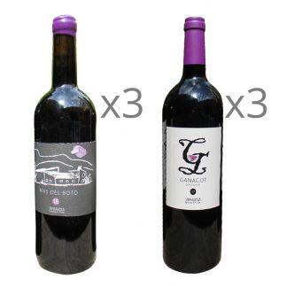 Comprar vino mas del botó DO Tarragona combi 2